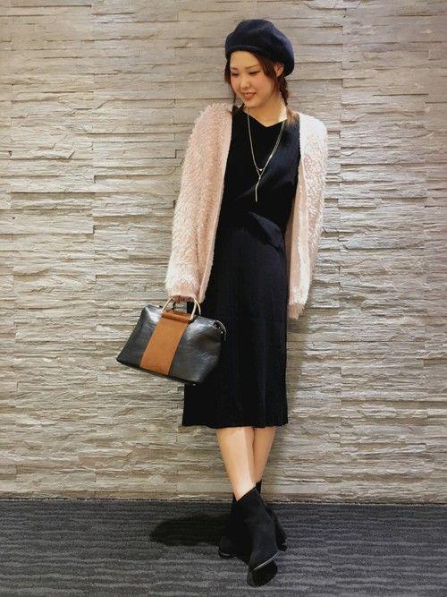 パステルな気分♡ 挑戦したかったピンクのカーディガンが入荷♡ ピンクは普段滅多に着ないし、パステルな
