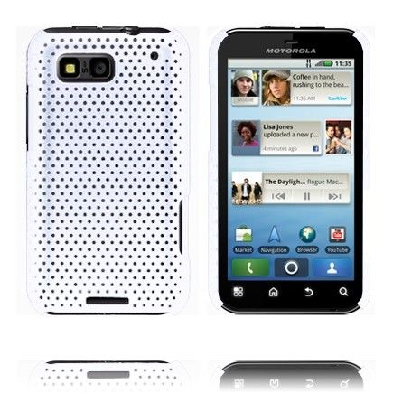 Atomic (Hvit) Motorola Defy Deksel