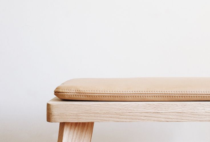 Counter-Space's Oak Bench: Remodelista
