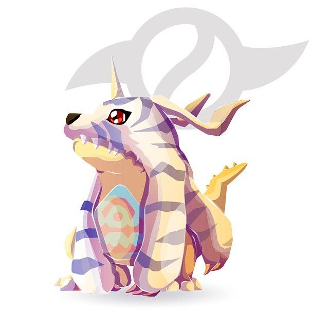 Gabumon and the Crest of Friendship