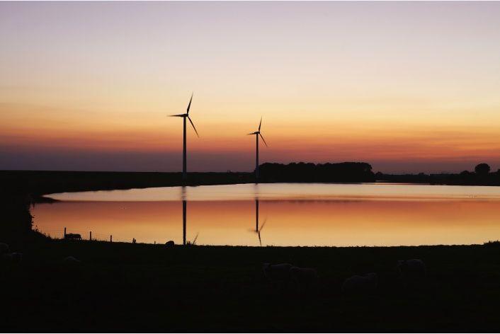 prachtige zonsondergang in Rilland via www.fanvanzeeland.nl