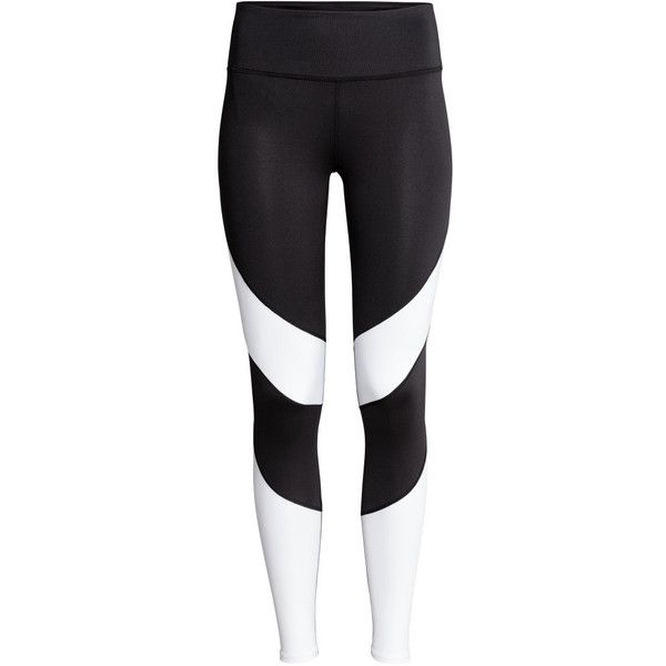 Sports Tights PHP 1,190 (42 BAM) ❤ liked on Polyvore featuring activewear, activewear pants and sports activewear