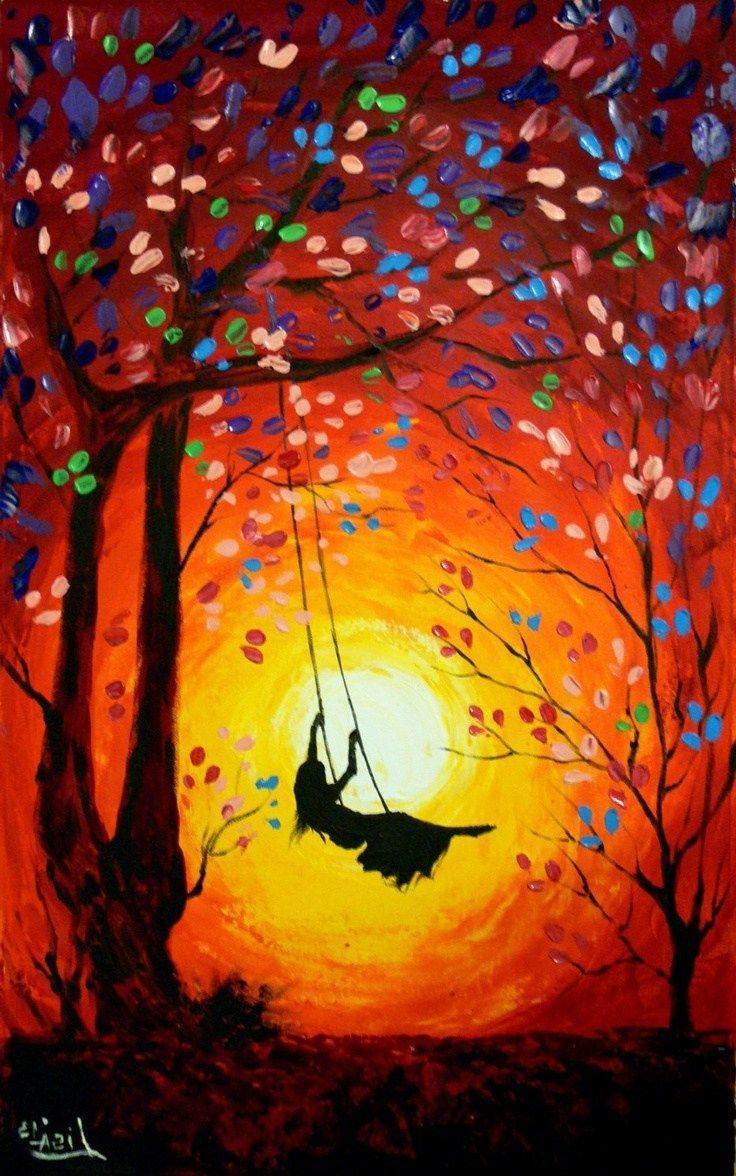 Beginners Big Canvas Painting Ideas Easy Novocom Top