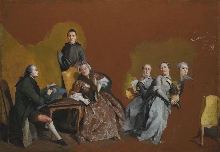 The Athenaeum - The Tiepolo Family (Giandomenico Tiepolo - )