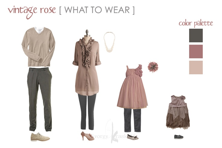 Vintage Rose [ What to Wear ] Style Guide by Givorgy Kraskoff Photography