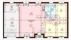 Maisons plain pied 3 chambres de 95 m² construite par Demeures Familiales