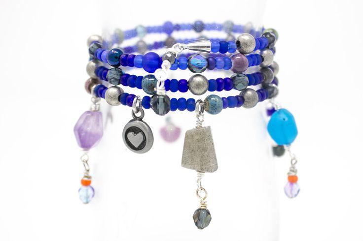 New in our shop! Cobalt Blue Charm Bracelet, Beach Bracelet, Unique Memory Wire Bracelet, Gemstone Bead Charms with a Starfish Charm https://www.etsy.com/listing/500024292/cobalt-blue-charm-bracelet-beach?utm_campaign=crowdfire&utm_content=crowdfire&utm_medium=social&utm_source=pinterest