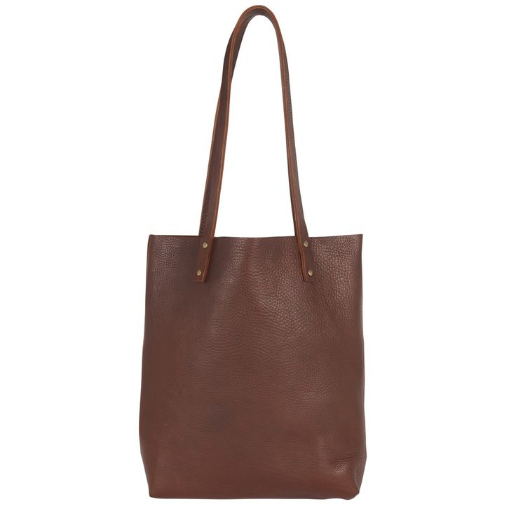 Sarah Baily | Dylan Tote Bag - Brown leather