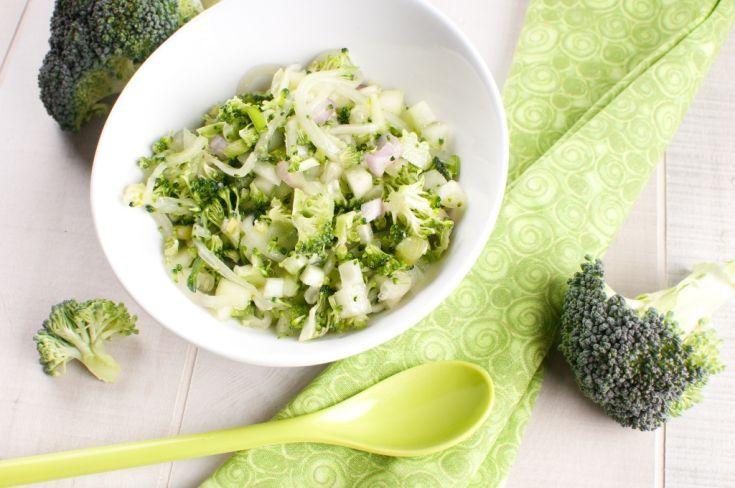 Brokolica s cesnakom a citrónom