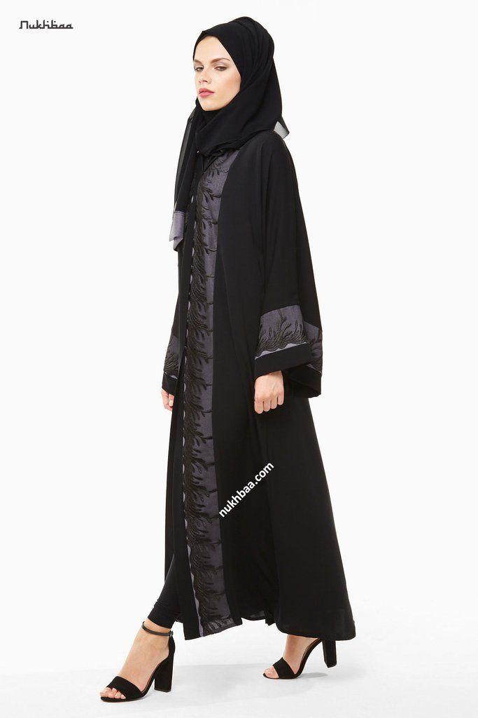 607421792dc3f Abaya-AJ14A in 2019 | Aba | Modern abaya, Dresses, Clothes