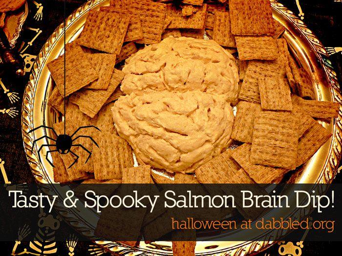 Halloween Brain Dip Recipe — Dishmaps
