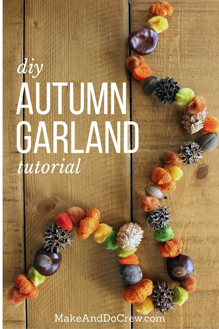 fall autumn garland