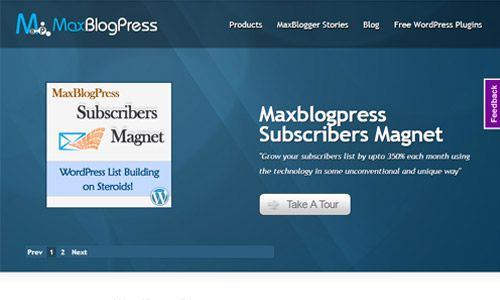 MaxBlogPress AIO Package