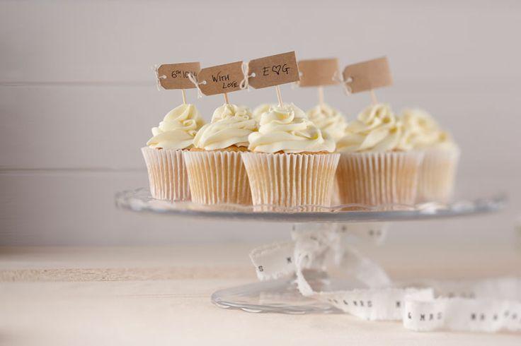 : Kraft Cupcake Sticks - Vintage Affair #HatchandBlossom