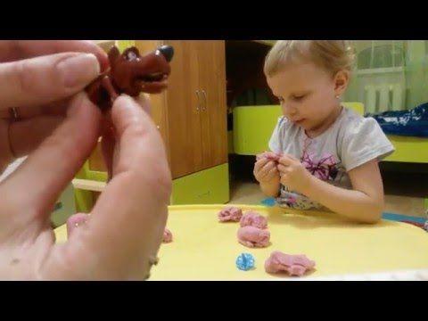 """Киндер игрушки Яйца с сюрпризом и делаем снеговика """"Шмяк""""opening Kinder Surprise eggs - YouTube"""