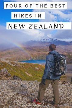 Hiking In New Zealand – 4 Of The Best Hikes #newzealandwalkingtours…