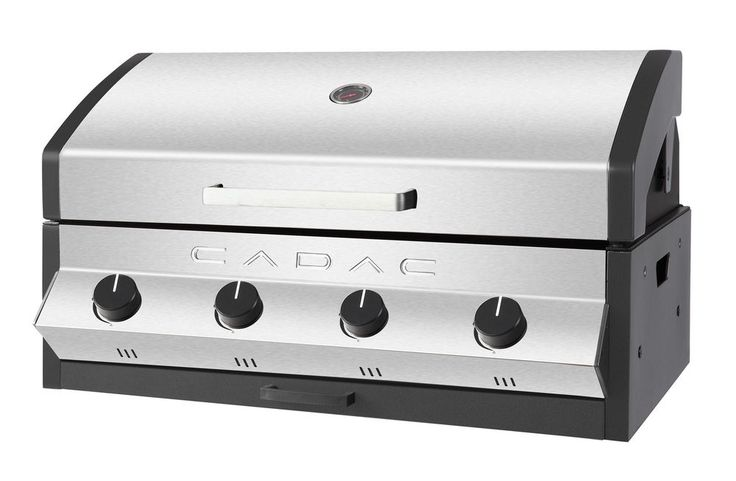 Cadac Meridian 4 Burner Built-In Counter Top BBQ