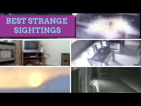 (2) TOP 5 REAL GHOST VIDEOS CCTV STRANGE CREATURE PARANORMAL ACTIVITY - YouTube