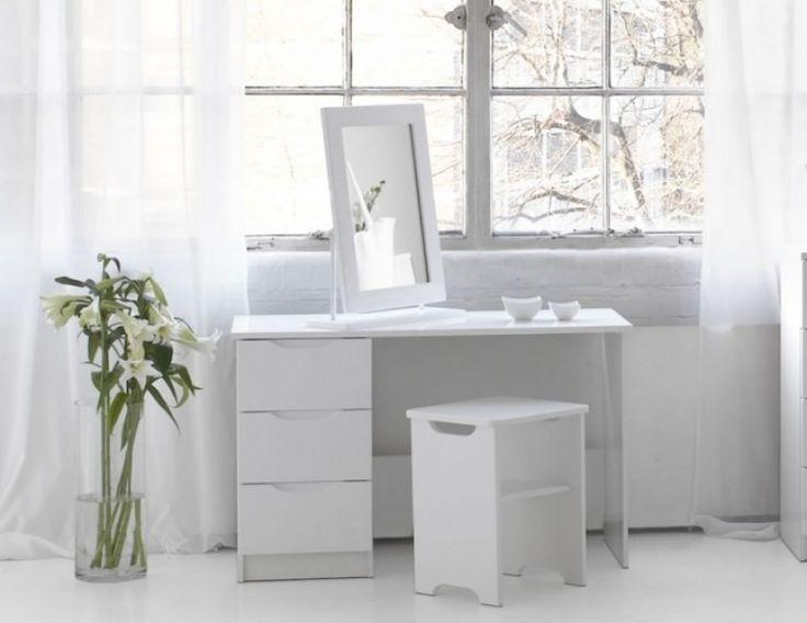 Dressing Table White Gloss