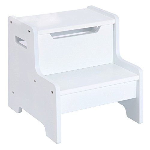 Guidecraft Expressions Step Stool, White