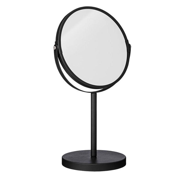 Spiegel Ø20xH33cm, Schwarz, Bloomingville