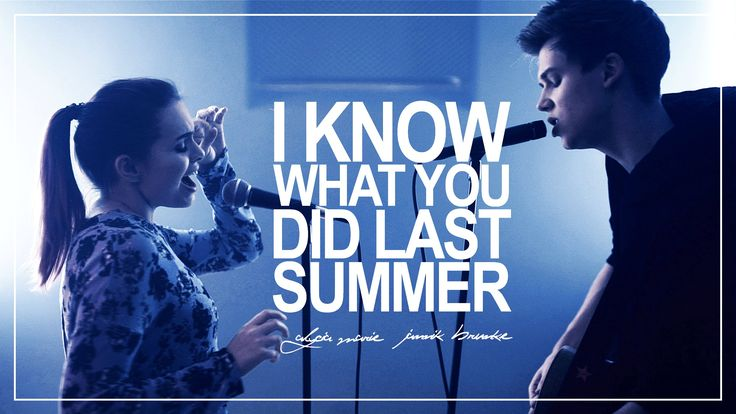 I Know What You Did Last Summer - Shawn Mendes &Camila Cabello (cover) ...  I love his covers! Please watch some of them! He is really good!