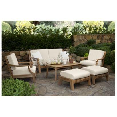 Smith U0026 Hawken® Premium Quality Avignon® Teak Lounge Collection. Furniture  CollectionPatio ...