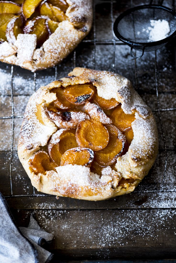 ... the delicious bounty of summer stone fruit in a rustic fruit galette