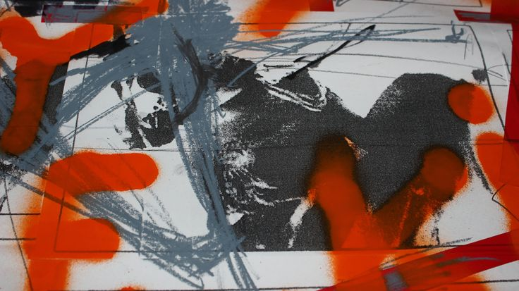 1 FRAME/ EXHIBITION OF JANOS VISNYOVSZKY'S ARTWORK