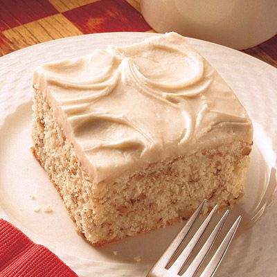 Browned Butter Cake. Nothing compares to the flavor of browned butter.