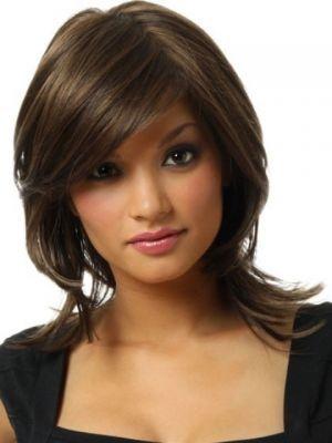 Wondrous 1000 Ideas About Medium Layered Hairstyles On Pinterest Short Hairstyles For Black Women Fulllsitofus