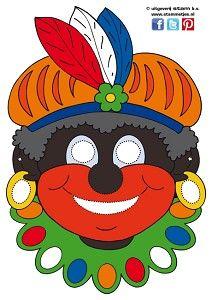 Masker Zwarte Piet