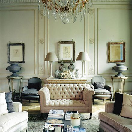 Drawing Room in a London townhouse by Nicholas Haslam.