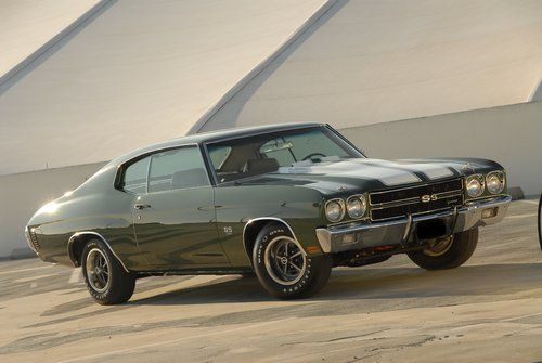 1970 Chevelle SS 454 LS6  (THIS was our car!! only with a yellow door...or maybe a maroon one.)