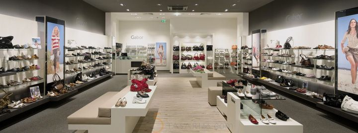 Shoe store lighting | City Lighting Products | Commercial Lighting | www.facebook.com/CityLightingProducts