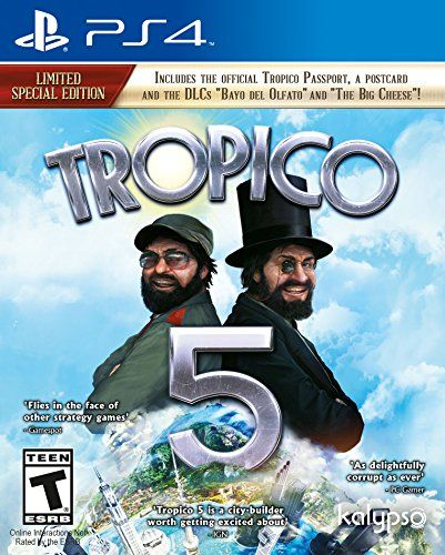 Tropico 5 (PS4) - PlayStation 4 Standard Edition - http://www.rekomande.com/tropico-5-ps4-playstation-4-standard-edition/