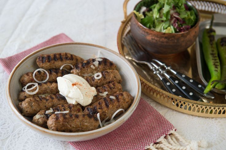 Köfte (turkisk köttfärsspett)