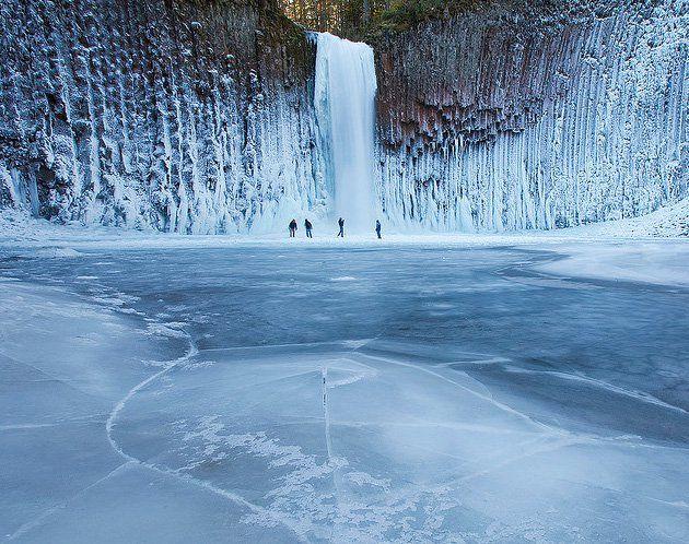Abiqua Falls, Oregon: Oregon, Frozen Waterf, Winter Scene, States Parks, Abiqua Fall, Magic Places, Niagara Fall, Ice Skating, Pacific Northwest