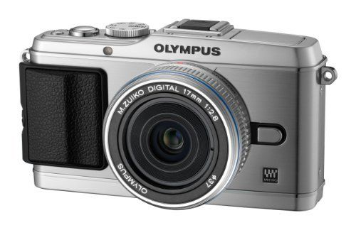 Who Sells Olympus Pen E-P3 Compact System Camera  Silver (Includes M.ZUIKO 17mm Pancake Lens) Overstock