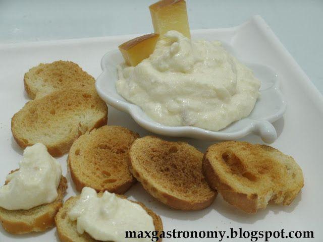 Receita No. 110 - Pasta de Queijo Provolone ~ Max Gastronomy