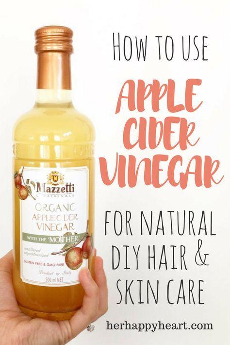 Apple Cider Vinegar: My Best DIY Beauty Secret   Why I LOVE apple cider vinegar for natural, DIY hair and skin care