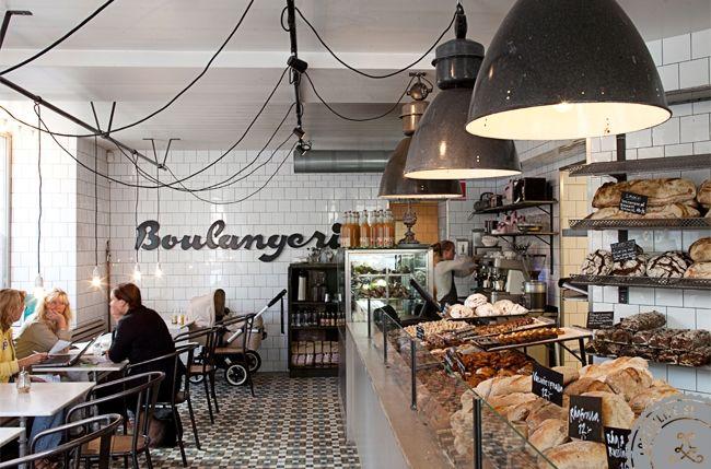 Bakery on Rosenlundsgatan on Södermalm, Stockholm