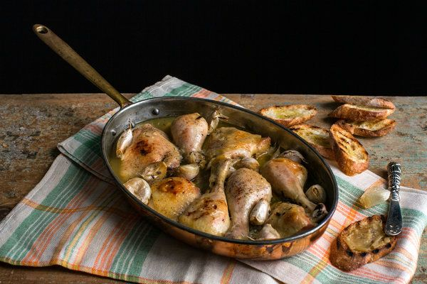 Chicken With 40 Cloves of Garlic Recipe - NYT Cooking