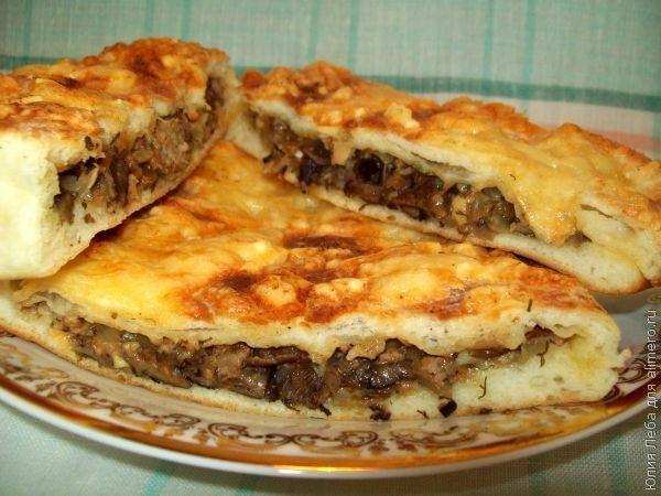 Рецепт закрытого пирога с капустой