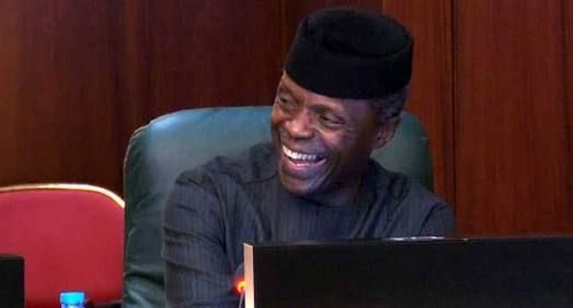 """I Am Back To My Position As VP Buhari Is Now In Charge""  Osinbajo"
