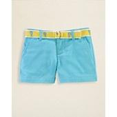 Ralph Lauren Childrenswear Girls Chino Shorts - Sizes 2-6X