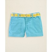 Ralph Lauren Childrenswear Girls Chino Shorts - Sizes 2-6X