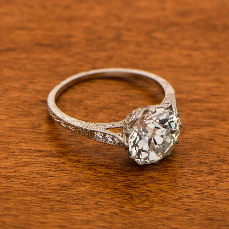 Vintage and Antique Engagement Rings by Estate Diamond Jewelry