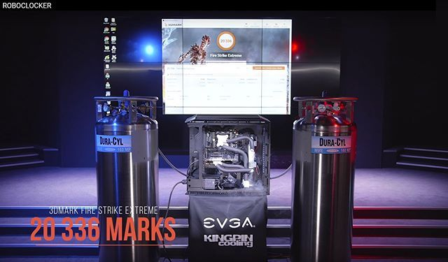 Icymi Roboclocker Powered By Teamevga Nvidiageforce Intel