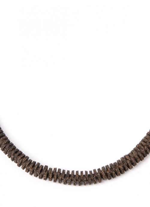 Unmess Long Cork Necklace . Portuguese Independent Brand of Contemporary Jewellery
